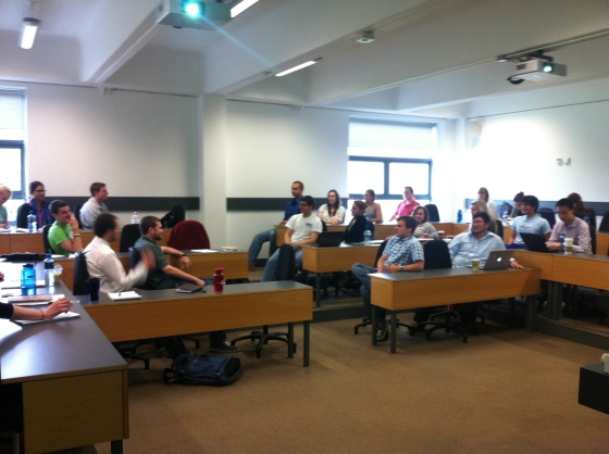 Summer Internship Group Debating the Merits of Economic Sovereignty,  UCD Quinn School, June 2013