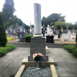 The Unfinished Headstone of Arthur Griffith