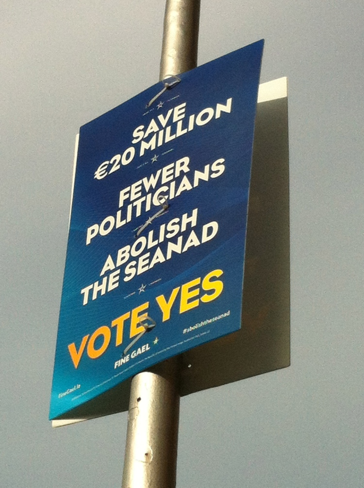 Fine Gael went for the populist line.