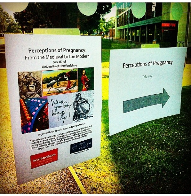 Directions to the Perceptions of Pregnancy Conference