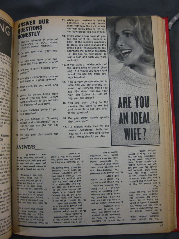 Woman's Choice, 4 March 1969